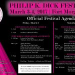 Official Philip K Dick Festival 2017 Agenda